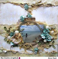 Expressing from my Heart and Soul: Adore Layout- for My Creative Scrapbook Limited Edition Kit with video tutorial