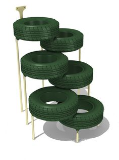 Tire Climber. Use heat reducing outdoor paint.