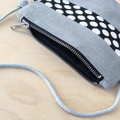 Recycled Denim, Linen Bag, Denim Bag, Denim Fabric, Black Canvas, Evening Bags, Pouches, Cosmetic Bag, Blue Denim