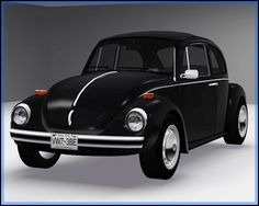 Fresh-Prince Creations - Sims 3 - 1973 Volkswagen Beetle