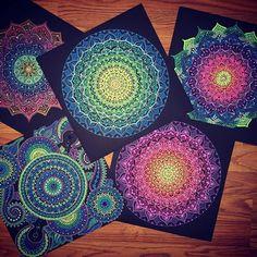 Mandala overload. Just incredible.  #arttherapy