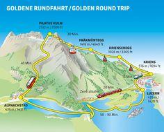 Mt. Pilatus from Lucerne Switzerland