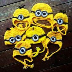 Crochet Minion Hat Perfect for 2015 Halloween Choose. 2015 Halloween crochet - gray: Love it By grace331 - LoveItSoMuch