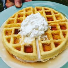 Paleo Waffles - Or - A Dream Come TRUE! - Powered by @ultimaterecipe
