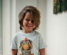 Haarschnitte und Kinderfrisuren - Längere Haare