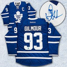 Doug Gilmour Maple Leafs Jersey