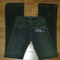 NWT Allen B Army Green Slim Boot Cut Corduroys 26 NWT Allen B Army Green Corduroys. Slim boot cut fit. Sz 26 Allen B Pants