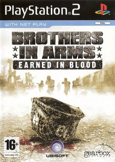 Brothers in Arms: Earned in Blood box cover art - MobyGames Video Games Xbox, New Video Games, Classic Video Games, Xbox One Games, Games Ps2, Assassin's Creed Black, Assassins Creed Black Flag, Xbox One S, Xbox Live
