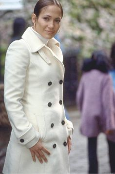 Jennifer Lopez Maid in Manhattan Trench Coat