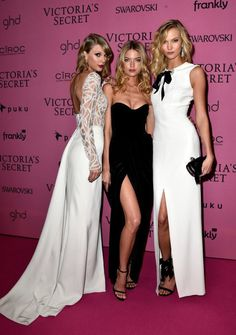 Taylor Swift Martha Hunt and Karlie Kloss Victoria Secret Fashion Show After Party VS #redcarpet #style #fashion