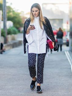 How to Wear a Leather Jacket: 7 Outfits You Haven't Thought of Yet via @WhoWhatWearUK