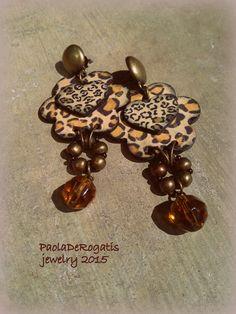 Animalier con cristallo cangiante su ottone brunito