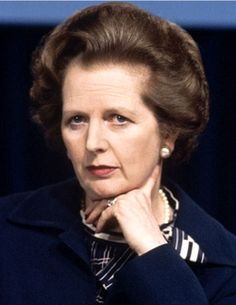 They call her Iron Lady, but I believe she's made of Blue Steel.