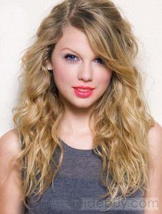 Perruque Taylor Style Long Ondulé Strawberry Blonde Lace 100% Cheveux Humains 20 Pouces  (Livraison gratuite)