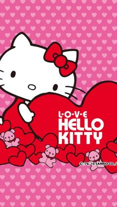 Sweet Hellokitty Heart Hd Wallpapers For Iphone Is A Fantastic Wallpaper Your Pc Or Mac And Available In High Definition Resolutions