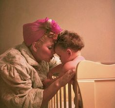 Lucy with daughter, Lucie c.1952