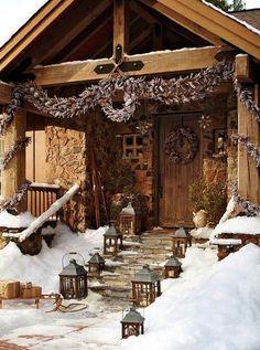 来年挑戦したい!クリスマスの屋外デコレーション