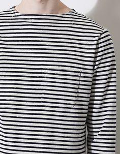 Engineered Garments Bask sailor shirt, Spring 2015