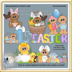 Easter Clipart, Baby Chubbies