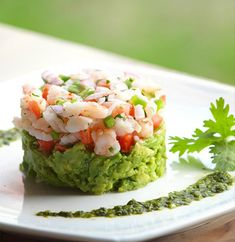 Mexican Ceviche with Shrimp Recipe Appetizers with medium shrimp, lime juice… Shrimp Recipes, Fish Recipes, Mexican Food Recipes, Appetizer Recipes, Jalapeno Recipes, Shrimp Appetizers, Mexican Desserts, Drink Recipes, Dinner Recipes