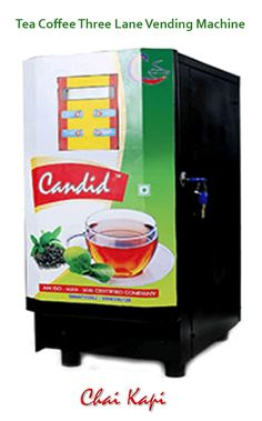 Chaikapi Services Offer Best Quality Three Lane Tea And Coffee Vending Machine For Home, Office, Café, Restaurant. This Chai And Coffee Candid Machine Is Very Compatible To Use And Offer Half Cup Tea, Coffee Features. Tea Coffee Vending Machine, Coffee Vending Machines, Fresh Milk, Best Tea, Chai, Candid, Restaurant, Diner Restaurant, Restaurants