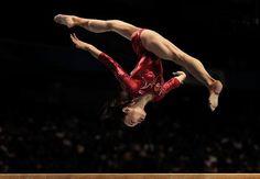 Tan Sixin (China). Credit: Adam Pretty/Getty Images - 2011 Artistic Gymnastics World Championships Prelims in Tokyo #gymnastics #fig2011Tokyo