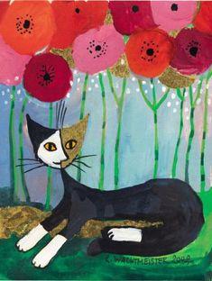 23 Best Rosina Wachtmeister Art Images Cat Art Art Cat Colors