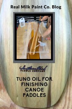 Canoe Paddles can be beautiful on their own, but when finished with Tung Oil they are stunning. We show you the process on our Real Milk Paint Blog. Pure Tung Oil, Canoe Paddles, Real Milk Paint, Wood Finishing, Hemp Oil, Paint Finishes, Natural Wood, Pure Products, Blog