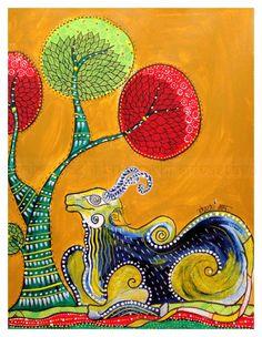 PepUp Street, Gond, tribal art, Indian art, Pep Up Street
