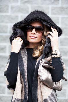 Karin Bohn Hooded Winter Cape 17