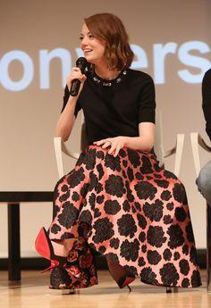 Emma Stone Photos - SAG Foundation Conversations: 'Birdman' - Zimbio