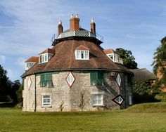 A La Ronde in Exmouth.  This fascinating 16 sided house is a relic from 1796. It was built for two spinster cousins Jane and Mary Parminter and was to be their home following their Grand Tour of Europe.  The house holds many treasures, most of which where collected by the cousins during their travels across the Continent. These are beautifully displayed, looking very much as they would have done in the 18th century.