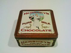 Vintage Collectible Edition 2 Hershey's Pure Milk by EclecticGals