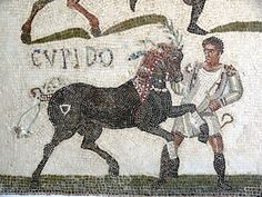 Horses and riders from Roman mosaic from Libya Strabo, in ''Geography'' book XVII, wrote on the various tribes that rode or used horses in Numidia/Lubia:    ''Although the most of the country inhabited by the Maurusians is so fertile, yet even to this time most of the people persist in living a nomadic life. But nevertheless they beautify their appearance by braiding their hair, growing beards, wearing golden ornaments, and also by cleaning their teeth and paring their nails.'