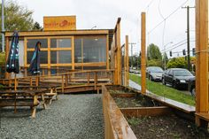 Humble Pie Serves Hyperlocal Pizza in a Shipping Container Dining Room