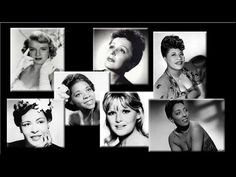 Various Artists - Best Jazz Compilation 2015 : Female Voices Ella Fitzgerald, Louis Armstrong: Summertime Nina Simone: Love Me or Leave Me Rosemary Clooney: Over The Rainbow Sarah Vaughan: Misty Edith Piaf :La Vie En Rose. Cool Jazz, Jazz Music, Music Songs, Complete Music, Song Night, Rosemary Clooney, Diana Krall, Irving Berlin, Concord Music