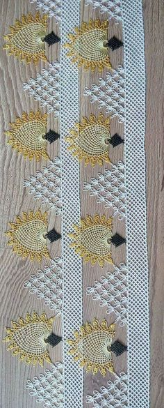 Picture Only of Turkish Needle Lace Seed Bead Tutorials, Beading Tutorials, Crochet Lace, Crochet Stitches, Embroidery Patterns, Hand Embroidery, Lace Art, Needle Lace, Crochet Patterns For Beginners