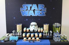 Sweet Table from a Star Wars Birthday Party via Kara's Party Ideas | KarasPartyIdeas.com (6)
