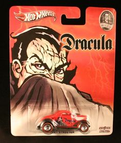 NEET STREETER * DRACULA / UNIVERSAL STUDIOS MONSTERS * Hot Wheels 2013 Pop Culture Series 1:64 Scale Die-Cast Vehicle