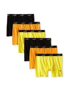 48% OFF PUMA Men's Boxer Briefs - 6 Pack