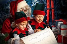 Filastrocca Inglese che canta di 'Babbo Natale'| AngeliqueFelix.com #filastrocche #natale #inglese #babbonatale