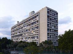 Le Corbusier Unité d'habitation, Marseille Jednostka mieszkaniowa