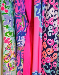 Bright Spring Prints - these colors and prints make me happy!