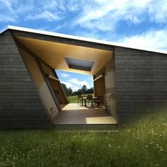 Angular Building - Dont think outside of the box, redesign the box.  M :)