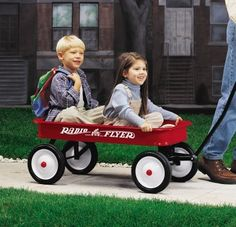 The Original Little Red Wagon has become such a classic that the shape has been trademarked.