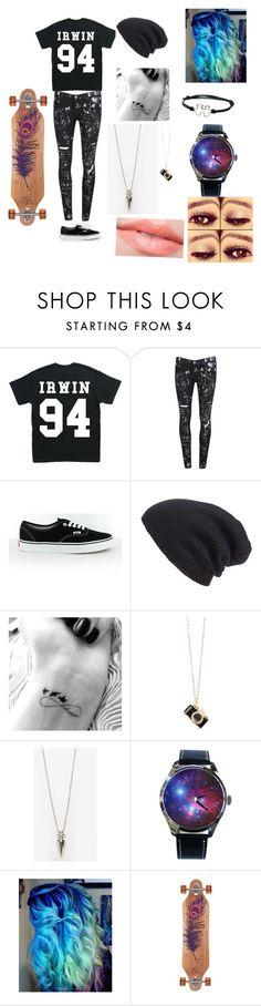 """Meeting Ashton at the skatepark"" by ashtonlovesbvb ❤ liked on Polyvore featuring mode, Pyrex, Paige Denim, Vans, Leith et Eddie Borgo"