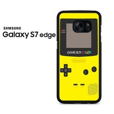Yellow Nintendo Controller Samsung Galaxy S7 Edge Case