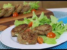 HAMBURGUESA DE LENTEJA / MANOS A LA OBRA - YouTube Keto, Paleo, Vegetable Recipes, Vegetarian Recipes, Vitamix Recipes, Carnitas, Wrap Recipes, Food Humor, Sin Gluten