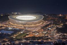 Green Point / Cape Town Stadium. by Johannes P., via Flickr