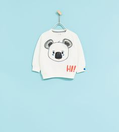 Image 1 of KOALA SWEATSHIRT from Zara